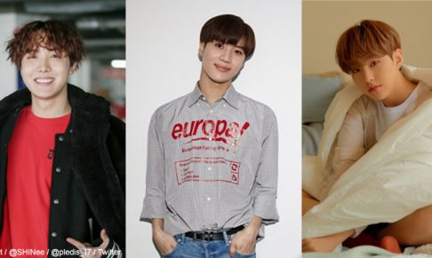 BTS、SHINee、Seventeen