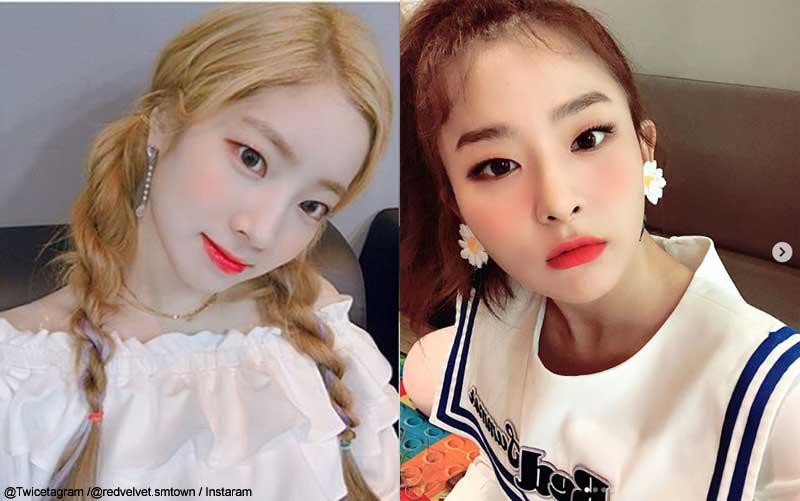 TWICEダヒョン、Red Velvetスルギ