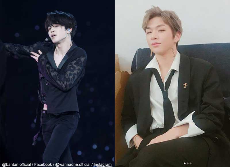 BTS(防弾少年団)ジミン、Wanna Oneカン・ダニエル