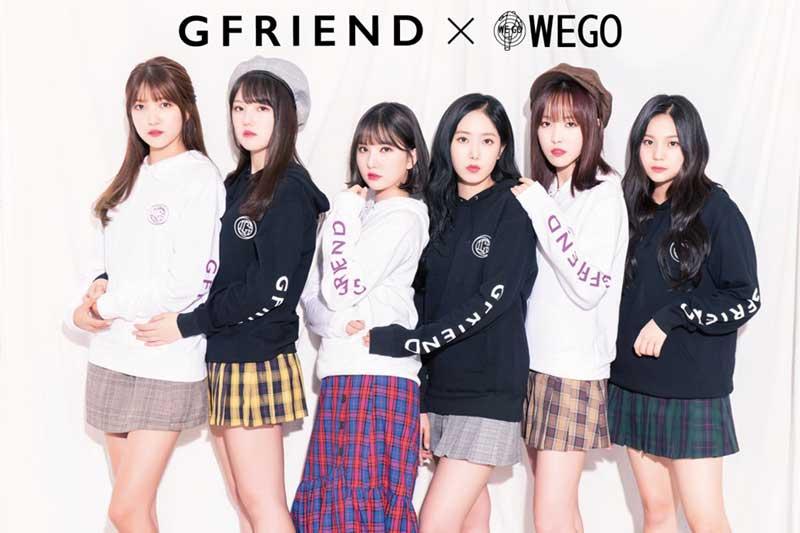 K,POP女性アイドルグループ「GFRIEND」がファッションブランド「WEGO」とコラボし、パーカーを発売! ファンブックもリリース