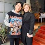 BIGBANGのV.I、クロエ・グレース・モレッツ