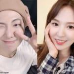 BTS(防弾少年団)RM、Red Velvetウェンディ