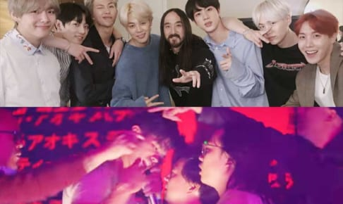 BTS(防弾少年団)、スティーヴ・アオキ、「Waste It On Me」MV