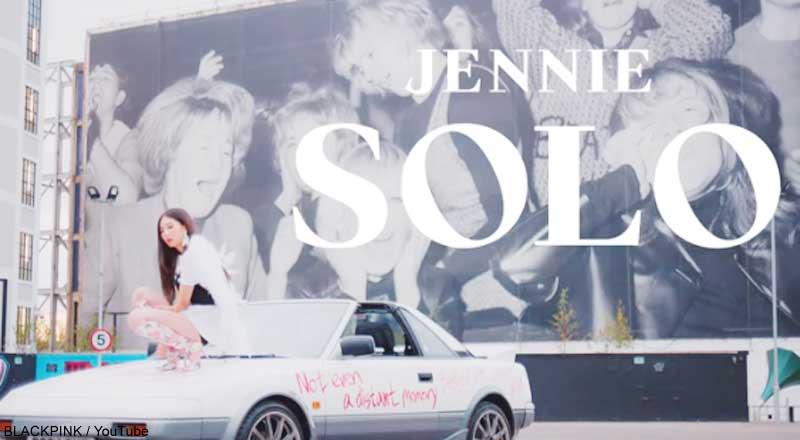 BLACKPINKのジェニー