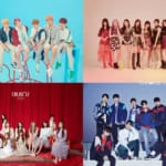 BTS、Wanna One、TWICE、IZ*ONE