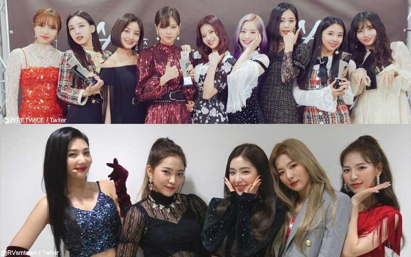 TWICE、Red Velvet