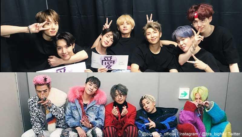 BTS(防弾少年団)、BIGBANG