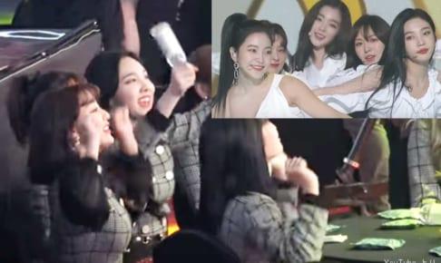 Red Velvetを全力で応援するTWICE