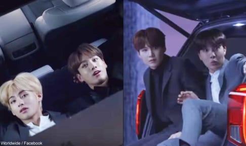 BTS(防弾少年団)V&ジョングク、シュガ&J-Hope