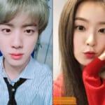 BTS(防弾少年団)ジン、Red Velvetアイリーン