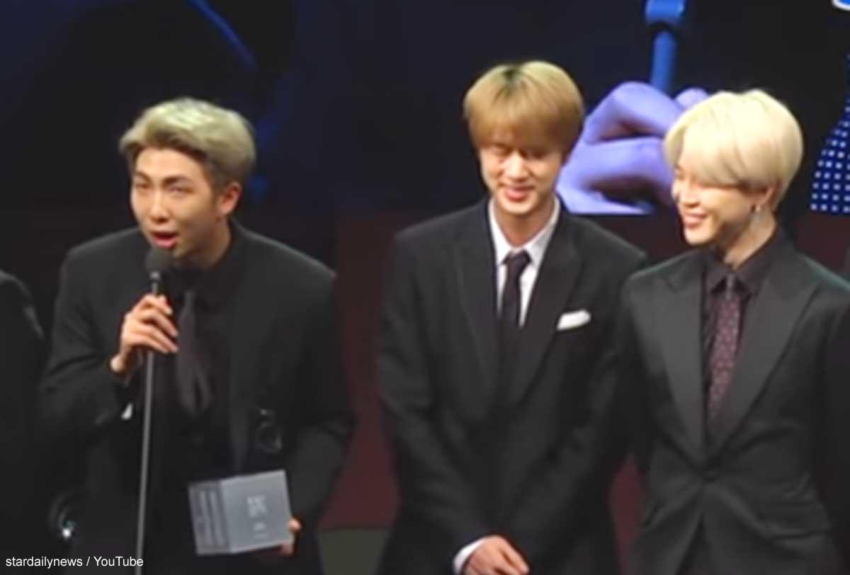 BTS(防弾少年団)RM、ジン、ジミン