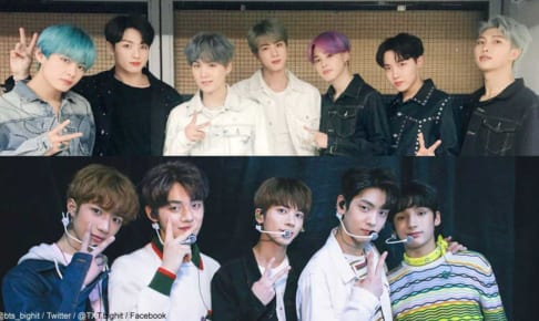 BTS(防弾少年団)、TXT(TOMORROW X TOGETHER)
