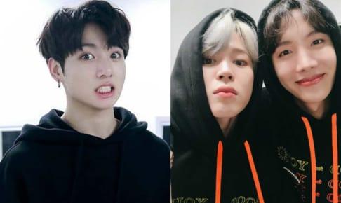 BTS(防弾少年団)ジョングク、ジミン、J-Hope
