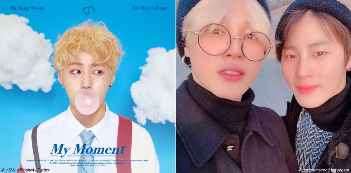 ハ・ソンウン「My Moment」、BTS(防弾少年団)ジミン、ハ・ソンウン