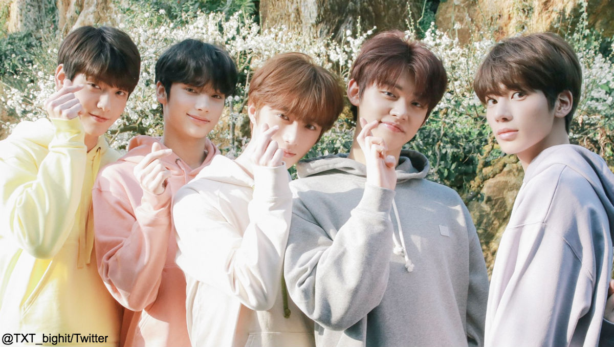 TXT(TOMORROW X TOGETHER)