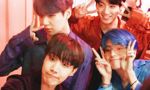 BTS(防弾少年団)J-Hope、シュガ、ジョングク、V