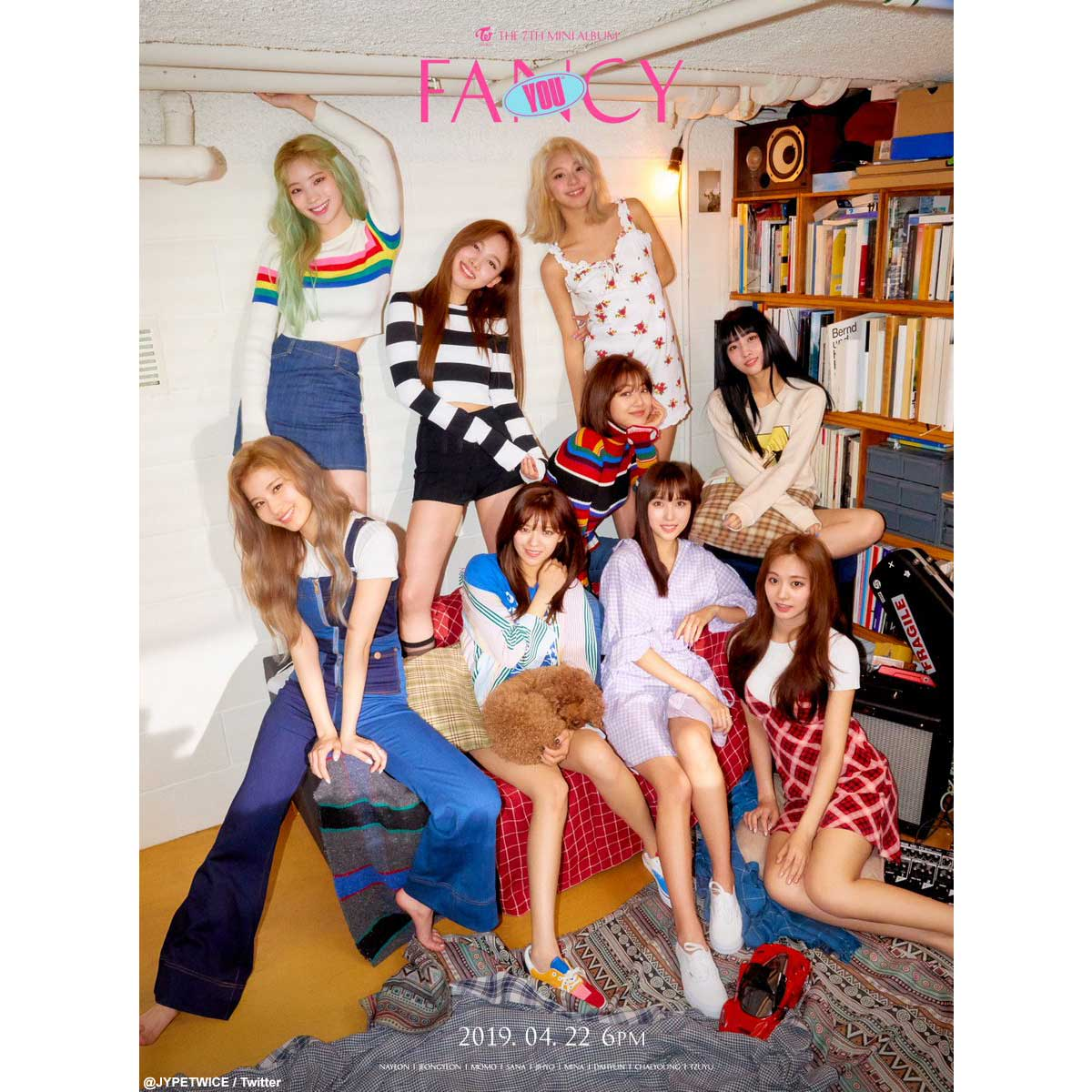 twice fancy you ジョンヨン