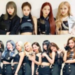 BLACKPINK、TWICE