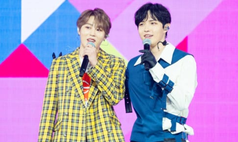 ハ・ソンウン、キム・ジェファン「KCON 2019 JAPAN」 ⓒ CJ ENM Co., Ltd, All Rights Reserved