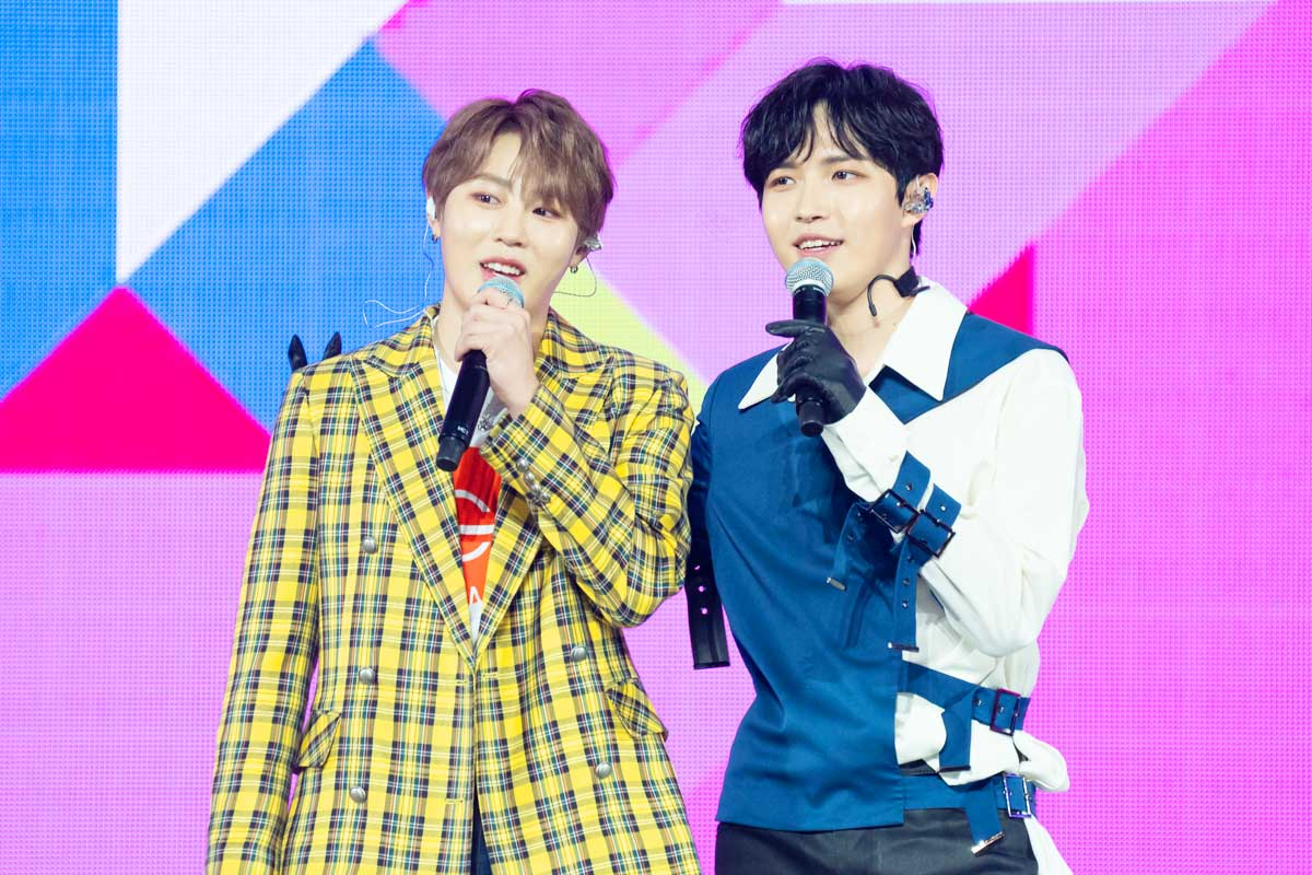ハ・ソンウン、キム・ジェファン「KCON 2019 JAPAN」 ⓒ CJ ENM Co., Ltd, All Rights Reserved