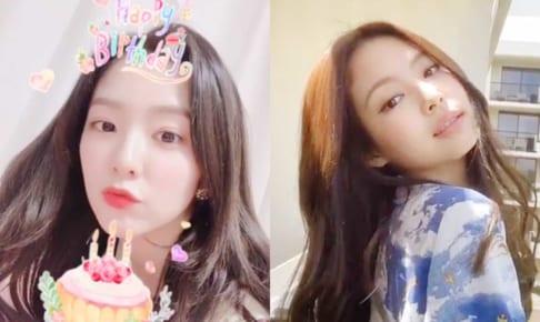 Red Velvetアイリーン、BLACKPINKジェニー