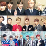 BTS(防弾少年団)、EXO、Wanna One