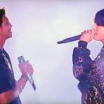 (左)RM(右)ジョングク