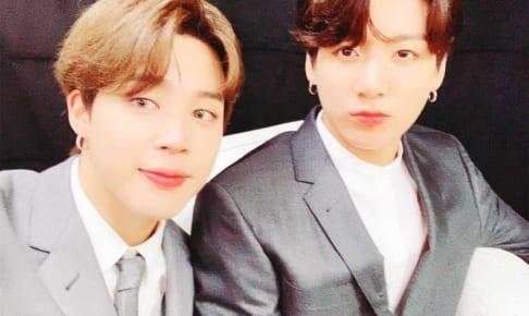 BTSジミン&ジョングク