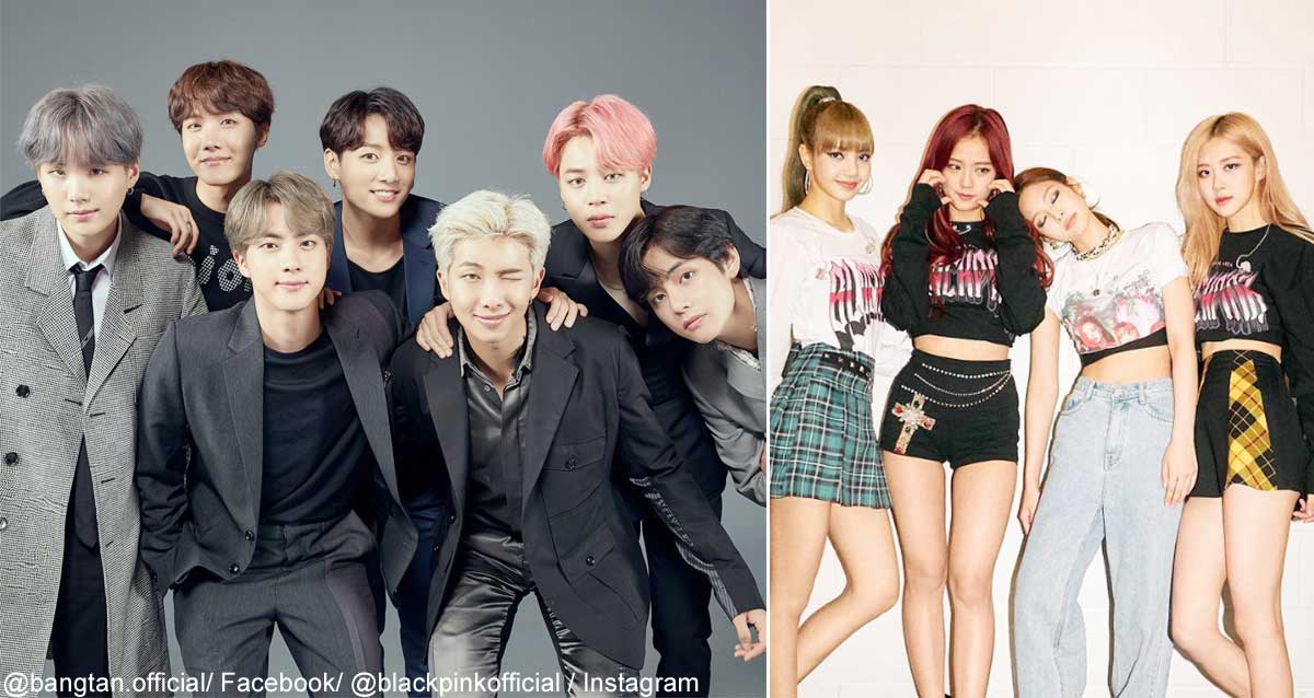 BTS、BLACKPINK