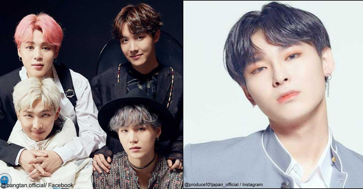 BTS、「PRODUCE 101 JAPAN」東郷 良樹