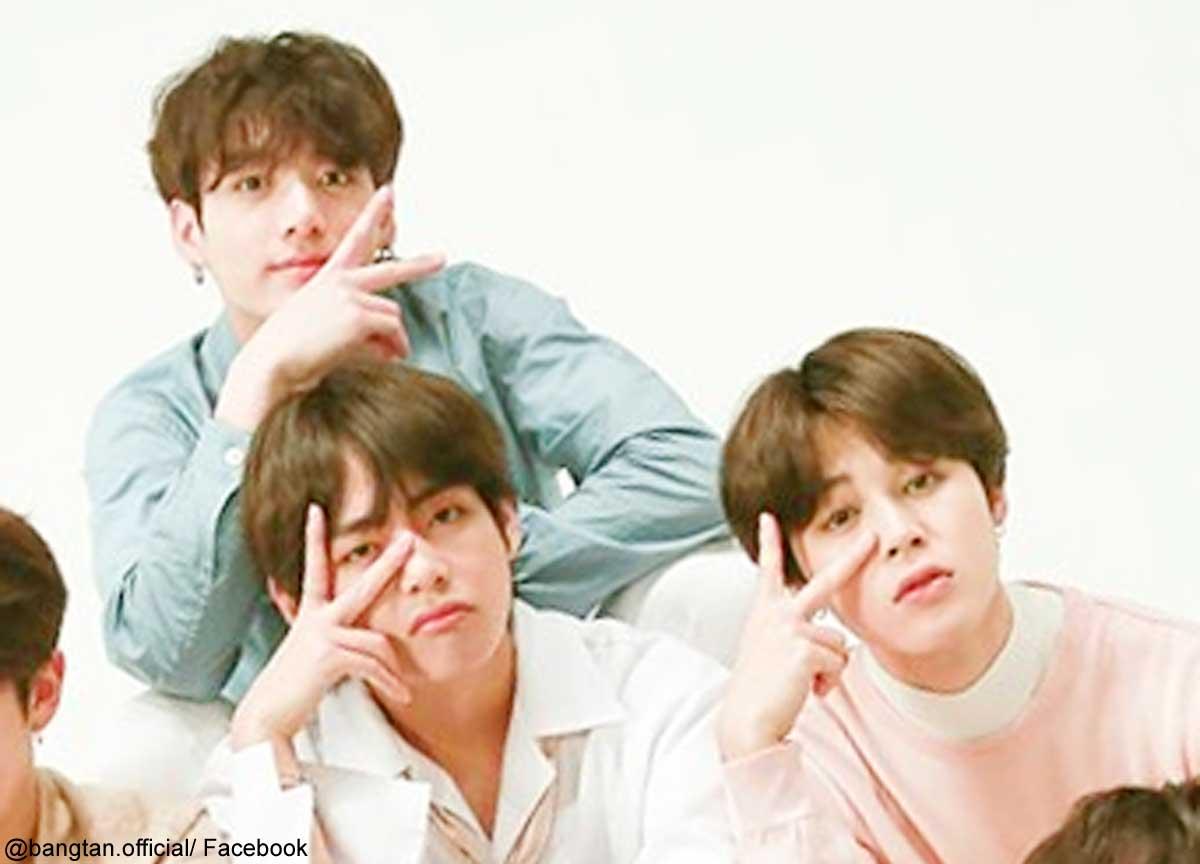BTSジョングク、V、ジミン