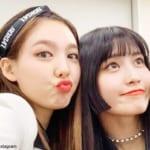TWICEナヨン&モモ