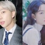 BTS RM、ユンナ(右)