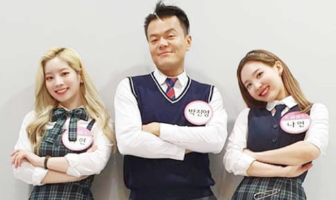 TWICEダヒョン&ナヨンとパク・ジニョン
