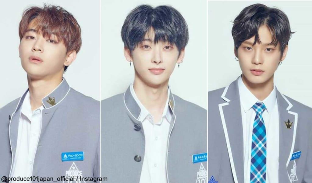 チョン・ヨンフン、キム・ヒチョン、キム・ユンドン(右)