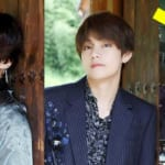 BTSジョングク&V、(右:Twitter/@0901230___)