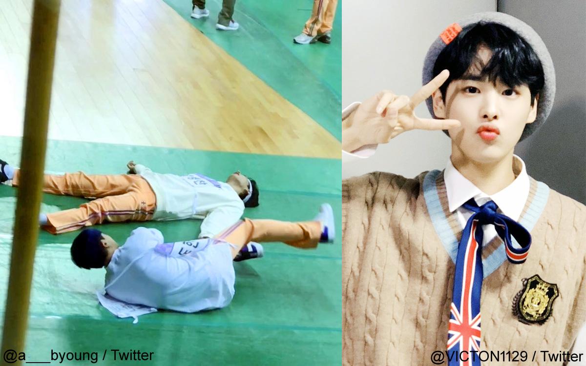 (左)Twiter/@a___byoung、VICTONビョンチャン
