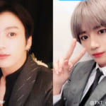 (左)BTS ジョングク(右)TXT ボムギュ