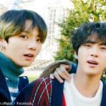 (左)BTS ジョングク(右)BTS ジン