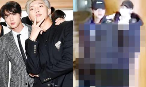 (左)BTS ジン(右)BTS RM