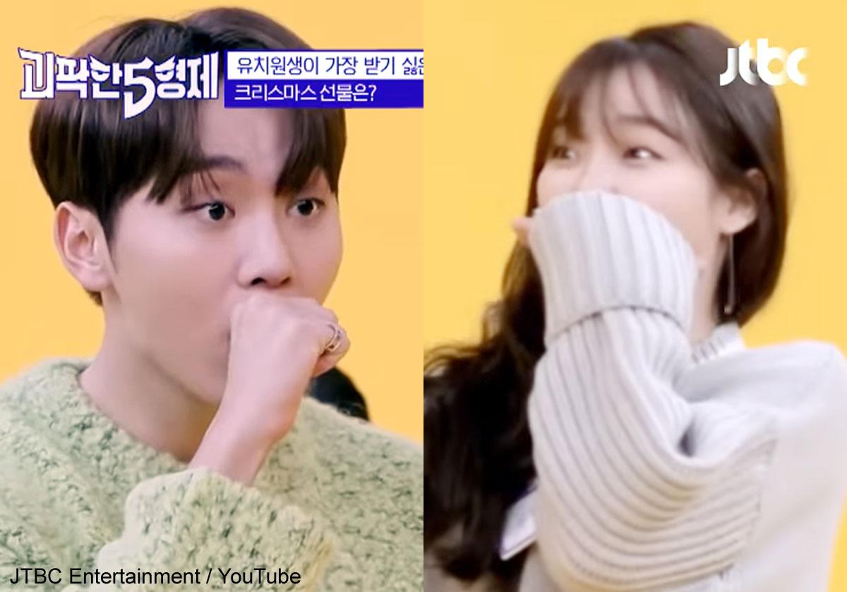 (左)SEVENTEEN スングァン(右)OH MY GIRL スンヒ