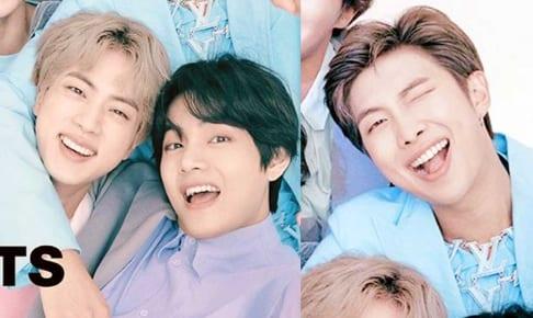 BTSジン、V、RM(右)