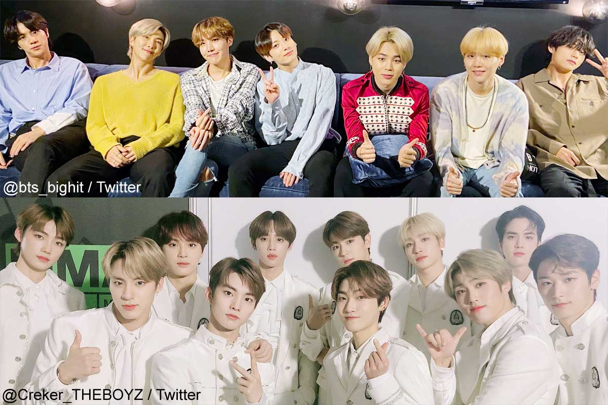 BTS、THE BOYZ(下)