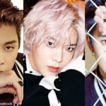 NCT 127ジョニー、ユウタ、ジェヒョン(右)