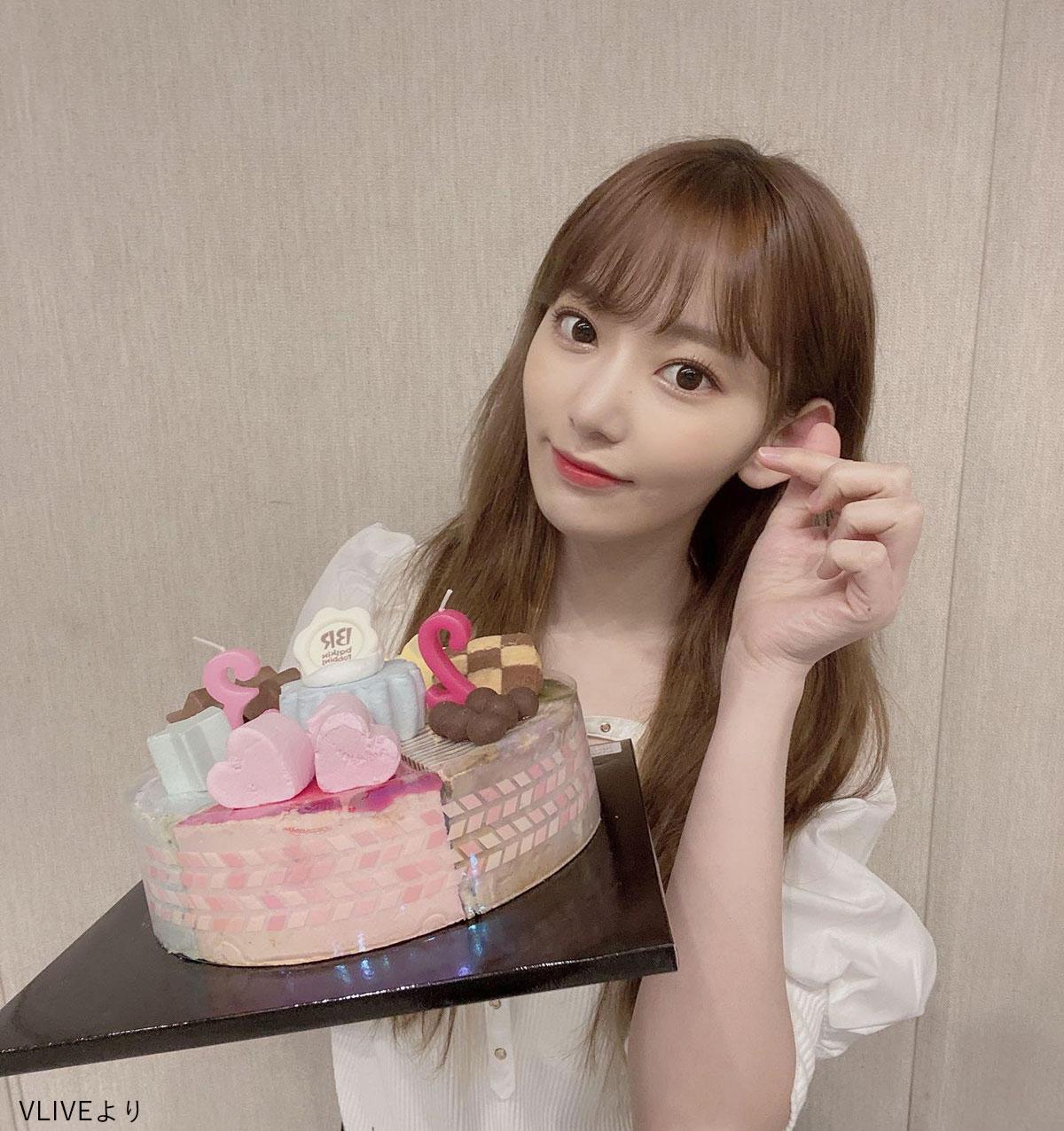 IZ*ONE 22歳の誕生日を迎えた宮脇咲良