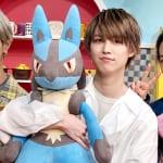 JO1(左から)大平祥生、白岩瑠姫、川尻蓮