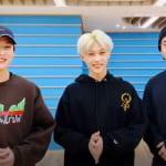 Stray Kids(左から)リノ、フィリックス、ヒョンジン