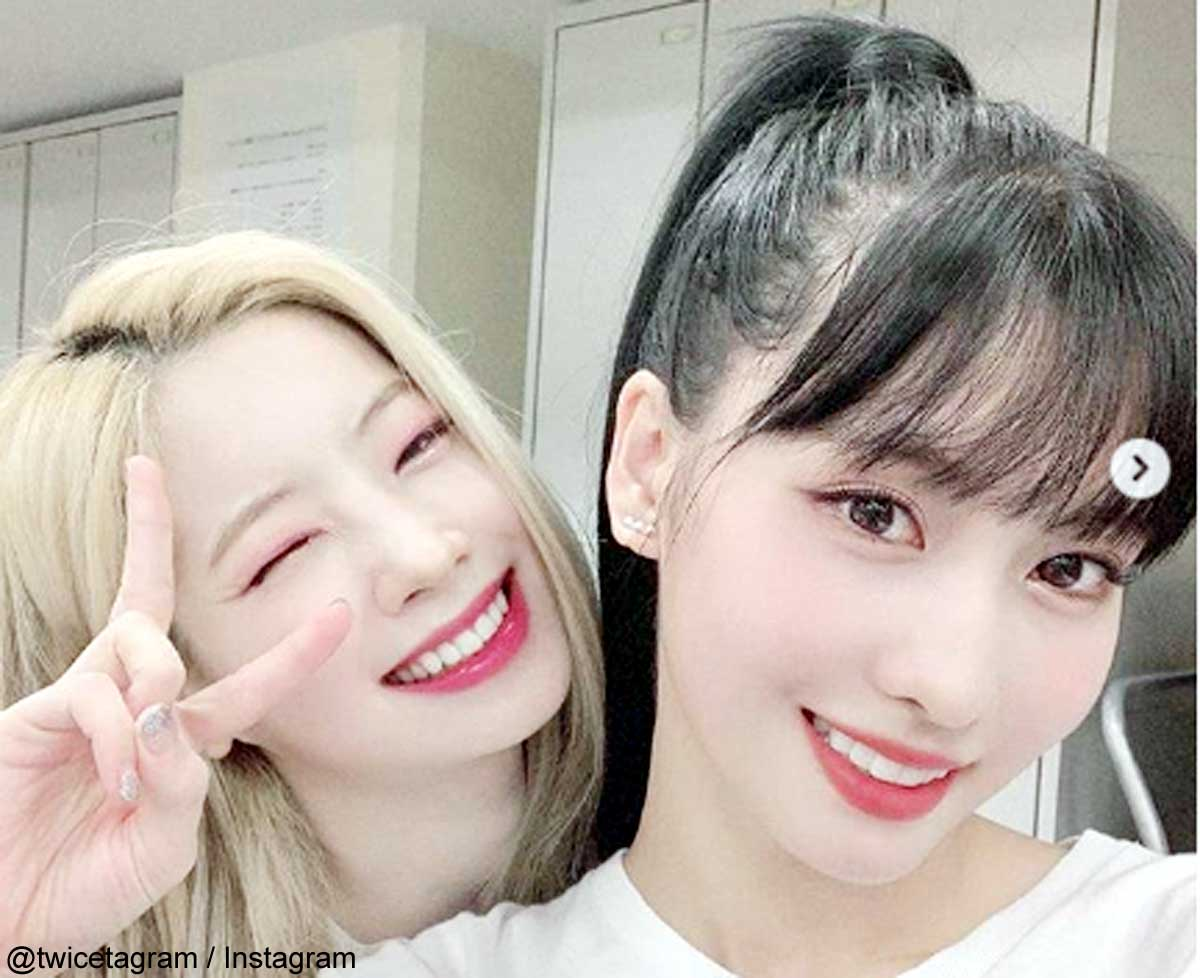 TWICEダヒョン&モモ