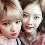 TWICEジョンヨン、姉コン・スンヨン(右)