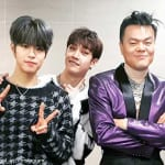 Stray Kidsスンミン、バンチャン、J.Y.Park(右)